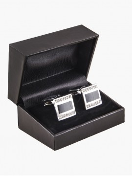 Elite Black Cufflinks