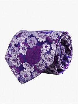 Indigo Floral Homage Tie