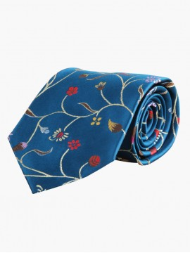 Cerulean Notes Tie